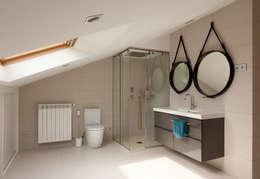 Projekty,  Sypialnia zaprojektowane przez ESTER SANCHEZ LASTRA