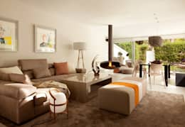 Projekty,  Salon zaprojektowane przez ESTER SANCHEZ LASTRA