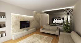 Projekty,  Salon zaprojektowane przez Niyazi Özçakar İç Mimarlık