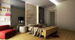 modern Bedroom by Niyazi Özçakar İç Mimarlık