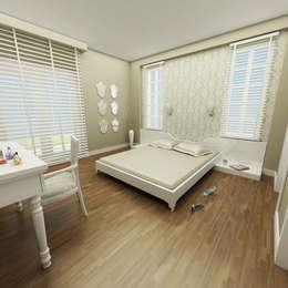 eclectic Bedroom by Niyazi Özçakar İç Mimarlık