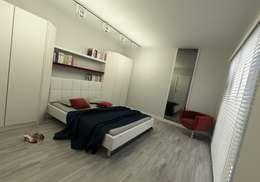 Niyazi Özçakar İç Mimarlık – METROKENT BURSA 3+1: modern tarz Yatak Odası
