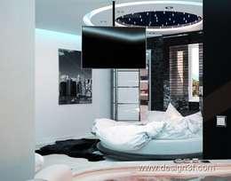 modern Bedroom by студия Design3F