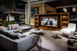 Livings de estilo moderno por B&G Audio Video Solutions BV
