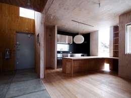 industrial Kitchen by AtelierorB