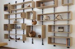 غرفة المعيشة تنفيذ SLOW WOOD - The Wood Expert