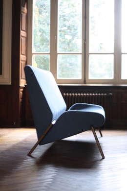 scandinavische Woonkamer door Alcyone Design