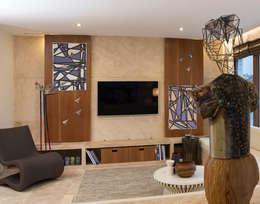 غرفة المعيشة تنفيذ AK Design Studio