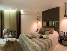 AK Design Studio – Stone Age- Baltalimanı Mansion: modern tarz Yatak Odası