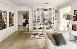 AK Design Studio – KANDILLI: eklektik tarz tarz Oturma Odası