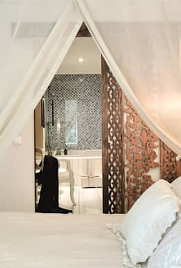 eclectic Bedroom by AK Design Studio