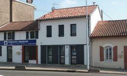 บ้านและที่อยู่อาศัย by EURL Cyril DULAU architecte