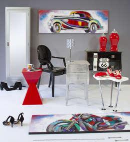 Livings de estilo moderno por Actúa Decor