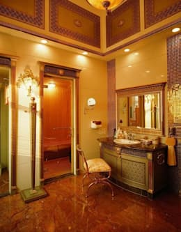 Asortie Mobilya Dekorasyon Aş.  –  BANYO : klasik tarz tarz Banyo