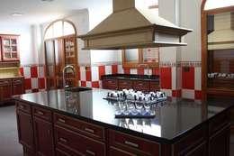 Cocina de estilo  por MUDEYBA S.L.