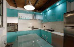 Cocinas de estilo moderno de Studio Arch. Matteo Calvi
