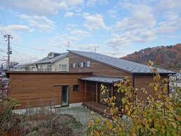 外観3: 田所裕樹建築設計事務所が手掛けた家です。