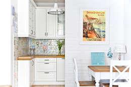 mediterranean Kitchen by Miśkiewicz Design