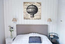 Mieszkanie letnie.: styl , w kategorii Sypialnia zaprojektowany przez Miśkiewicz Design