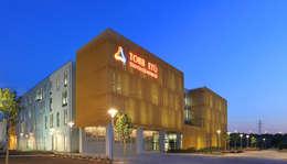 A Tasarım Mimarlık – TOBB ETÜ Teknoloji Merkezi Binası Dış Görünüm:  tarz Okullar
