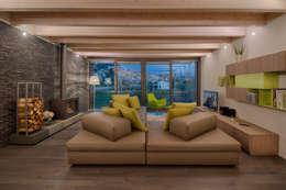 Projekty,  Salon zaprojektowane przez Studio di Architettura Daniele Menichini