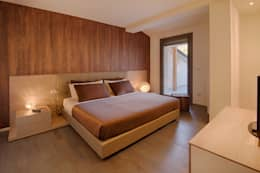 Projekty,  Sypialnia zaprojektowane przez Studio di Architettura Daniele Menichini