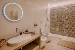Projekty,  Łazienka zaprojektowane przez Studio di Architettura Daniele Menichini