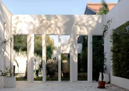 Jardines de estilo minimalista por Ilaria Di Carlo Architect - IDC_studio