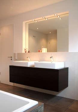 modern Bathroom by Architekturbüro Sahle