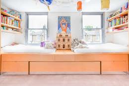 Dormitorios infantiles de estilo moderno por Whitaker Studio
