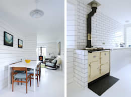 ห้องครัว by Brown + Brown Architects