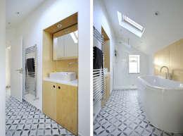 浴室 by Brown + Brown Architects