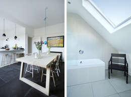moderne Badkamer door Brown + Brown Architects