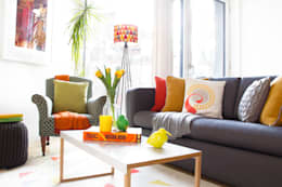 eclectic Living room by Bhavin Taylor Design
