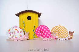 Детская комната в . Автор – Mundo Raquel