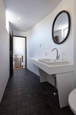 松本建築事務所/MA2 ARCHITECTS의  화장실