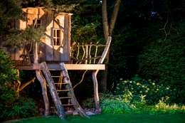Speelhuis in de tuin voor de kids: rustieke & brocante Tuin door Kabaz