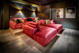 modern Media room by Kabaz