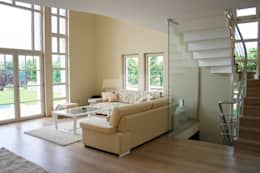 5 dakika Deneyim Tasarımı / Experience Design – Balta Evi: akdeniz tarzı tarz Oturma Odası