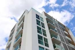 ZAAV-Edifício Residencial-1120: Casas minimalistas por ZAAV Arquitetura