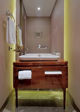 Paker Mimarlık – ÇUBUKLU B17: modern tarz Banyo