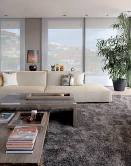 Paker Mimarlık – ÇUBUKLU B17: modern tarz Oturma Odası
