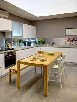 Paker Mimarlık – ÇUBUKLU B17: modern tarz Mutfak