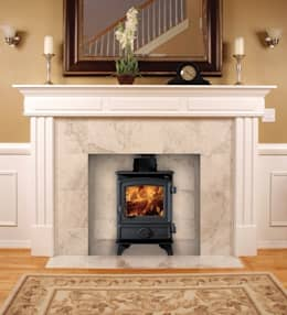 country Living room تنفيذ Direct Stoves