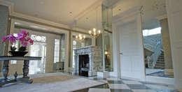 Corridor, hallway by Mirrorworks, The Antique Mirror Glass Company