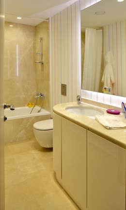Paker Mimarlık – GÜÇLÜ EVİ: modern tarz Banyo