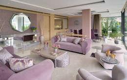 Paker Mimarlık – ÇUBUKLU B25: modern tarz Oturma Odası