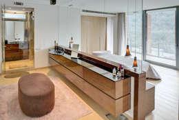 Paker Mimarlık – ÇUBUKLU B25: modern tarz Yatak Odası
