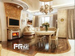 Квартира-студия Классика.: Гостиная в . Автор – 'PRimeART'