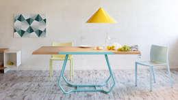 eclectic Dining room تنفيذ Luca Binaglia Design